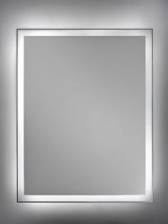 Lustra z podświetleniem LED bez ramy